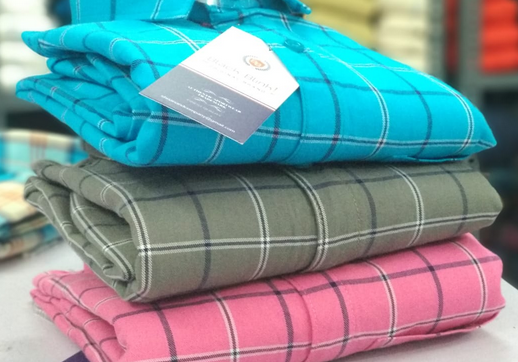 """a9d3575d ... India), we """"Shri Anand Trading Co."""" are a Sole Proprietorship firm  established as the leading manufacturer of a huge gamut of Men's Shirt,  Men's ..."""